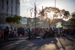 Centro also has a dark side, as seen in Cracolândia, an area where crack is openly bought, sold and consumed. City officials, including the current mayor Fernando Haddad, have made progress in improving parts of the area with drug rehabilitation centers, but problems still remain.